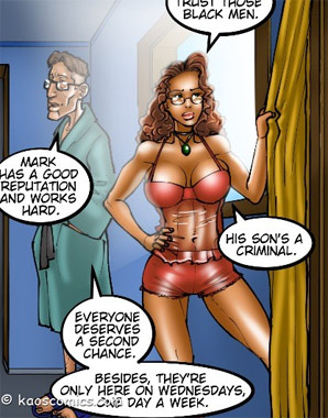 I don't trust those black men by kaos comics at sweet porn ...