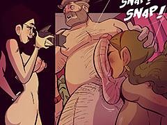 porn comics neve seen before make  crazy
